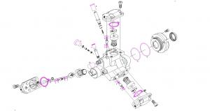 BOSCH Dichtungssatz Einspritzdüse Einspritzpumpe 1417010996 VW AUDI SKODA TDI